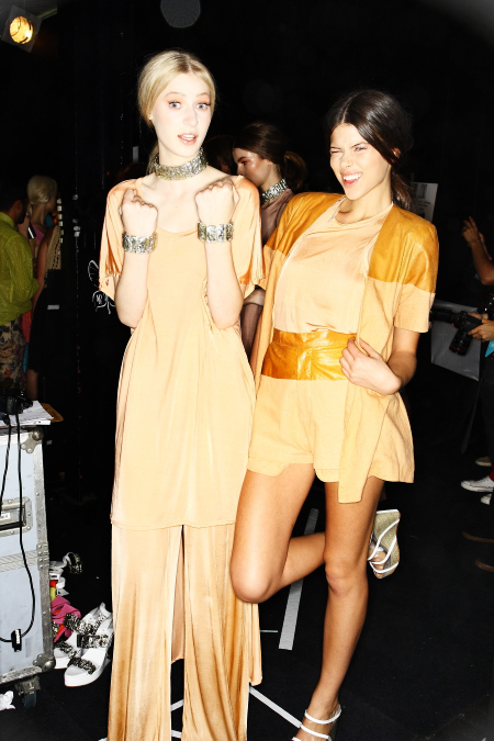 Shakuhachi SS11-12 Fashion Show Sydney Backstage
