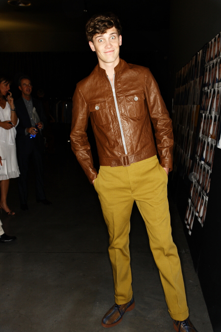 Z Zegna SS 12 Men's Fashion Show Milan Backstage