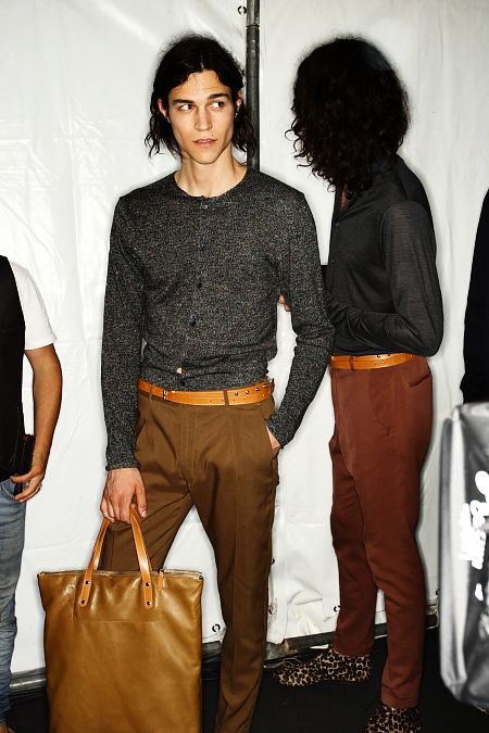 Paul Smith Men's SS 12 Fashion Show Paris Backstage