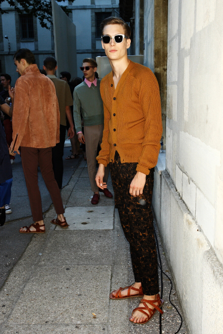 ACNE SS 12 Men's Fashion Show Paris Backstage