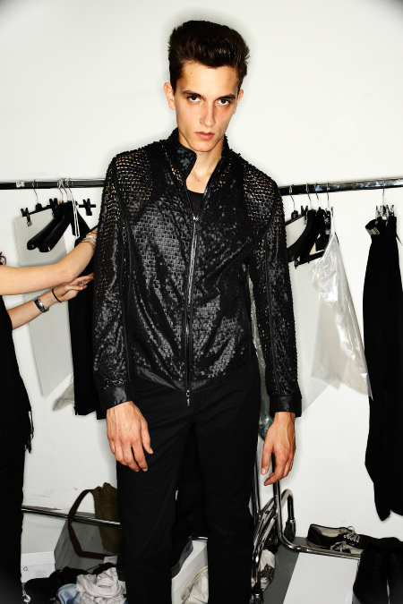 Calvin Klein Collection Men's SS 12 Fashion Show Milan Backstage