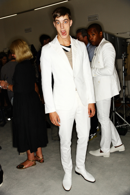 Ports 1961 SS 12 Men's Fashion Show Milan Backstage