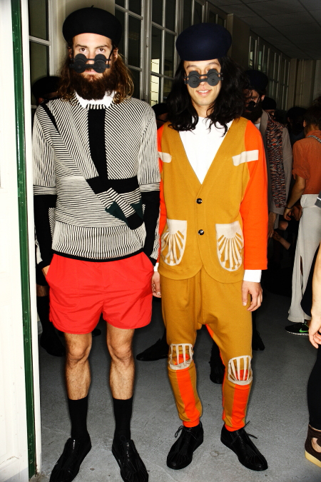 Henrik Vibskov SS 12 Men's Fashion Show Paris Backstage