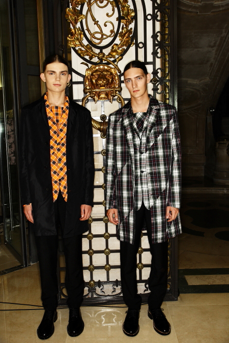 Raf Simons SS 12 Men's Fashion Show Paris Backstage