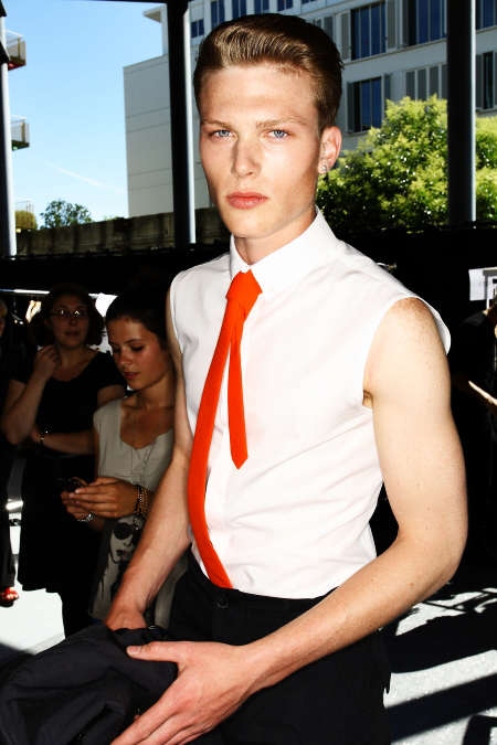 Qasimi Men's SS 12 Fashion Show Paris Backstage