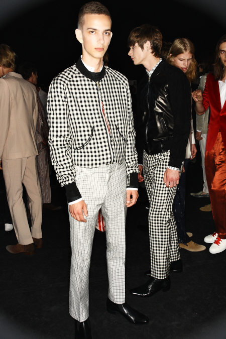 Alexander McQueen SS 12 Men's Fashion Milan Backstage