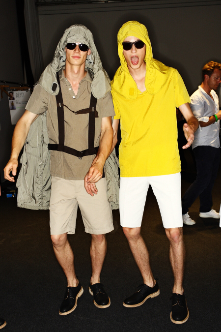 Nicole Farhi SS 12 Men's Fashion Show Milan Backstage