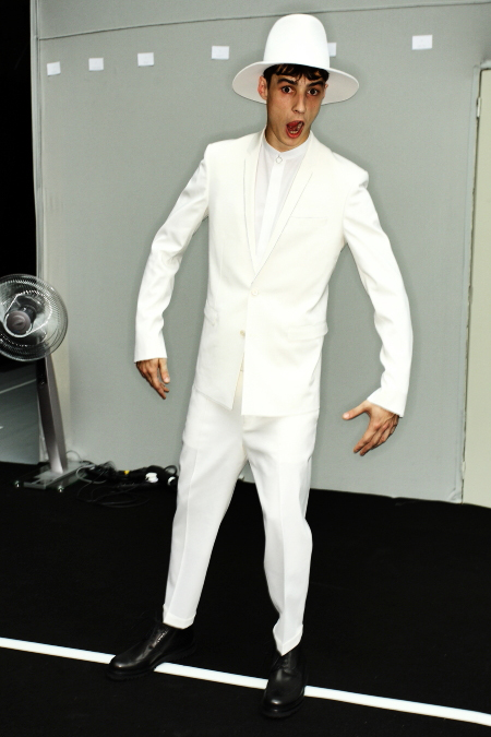 Dior SS 12 Men's Fashion Show Paris Backstage