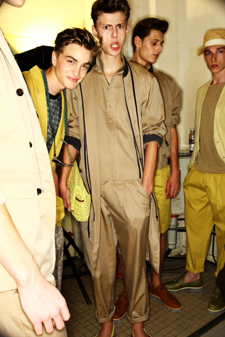 Wooyoungmi SS 12 Men's Fashion Show Paris Backstage