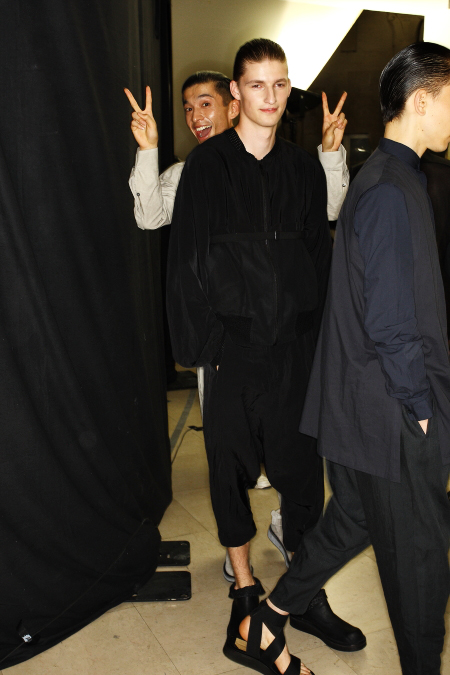 Damir Doma SS 12 Men's Fashion Show Paris Backstage