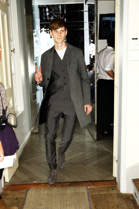 Cerruti SS 12 Men's Fashion Show Paris Backstage