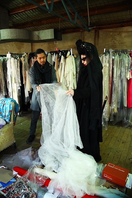 Diane Pernet's sets foot in Sydney for the first time