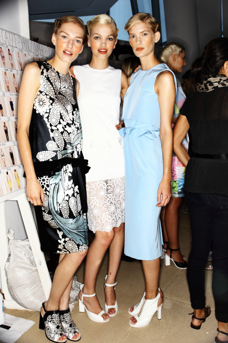 Preen SS12 Fashion Show New York Backstage