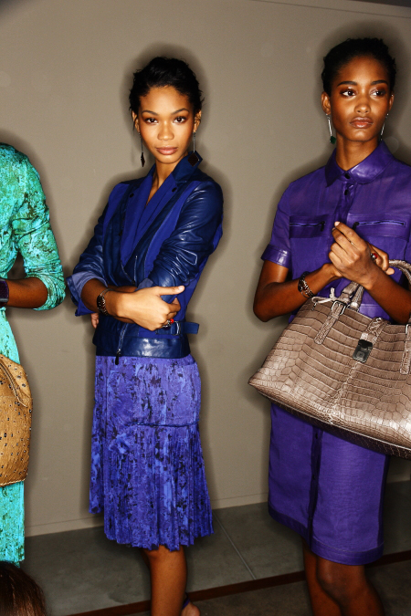 Bottega Veneta SS12 Fashion Show Milan Backstage