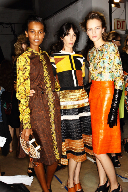 Proenza Schouler SS12 Fashion Show New York Backstage