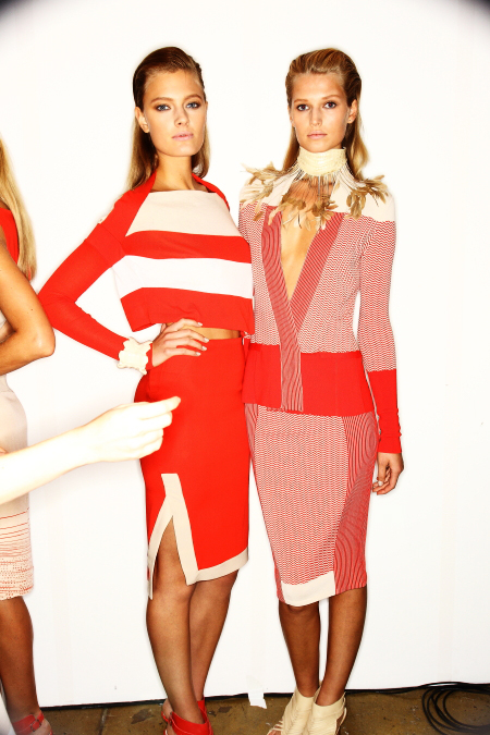 Ohne Titel SS12 Fashion Show New York Backstage