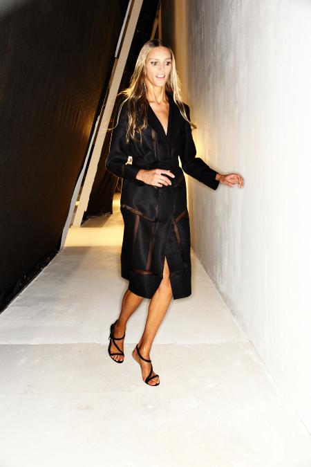 Alberta Ferretti SS12 Fashion Show Milan Backstage