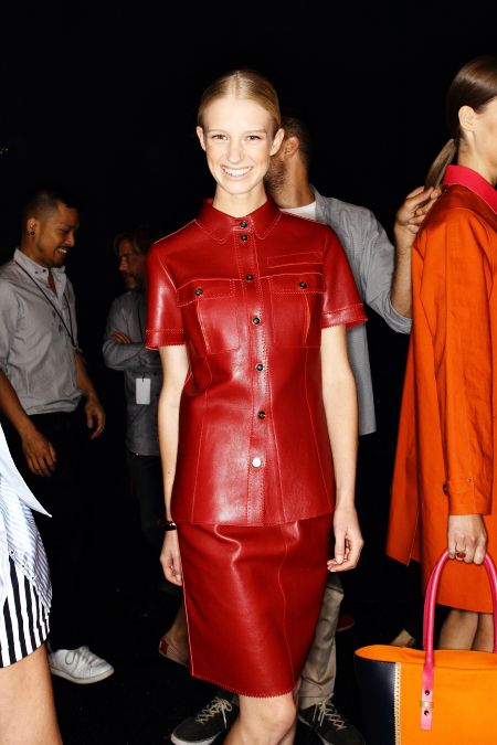 Tommy Hilfiger SS12 Fashion Show New York Backstage
