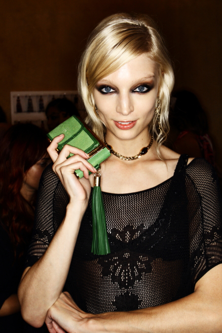 Emilio Pucci SS12 Fashion Show Milan Backstage