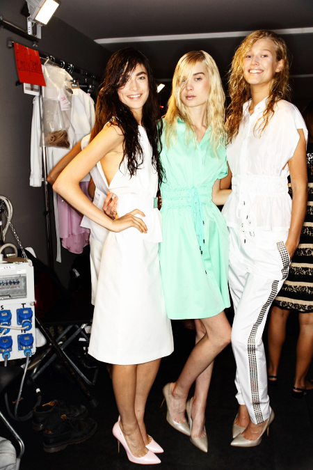 Sportmax SS12 Fashion Show Milan Backstage