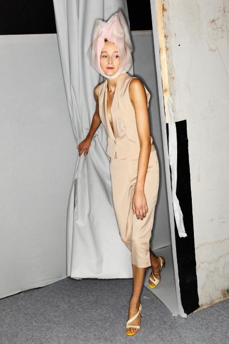 Issey Miyake SS12 Fashion Show Paris Backstage