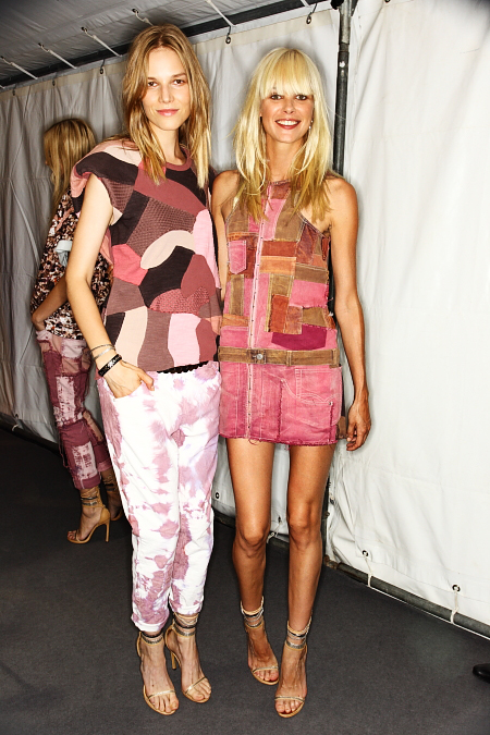 Isabel Marant SS12 Fashion Show Paris Backstage