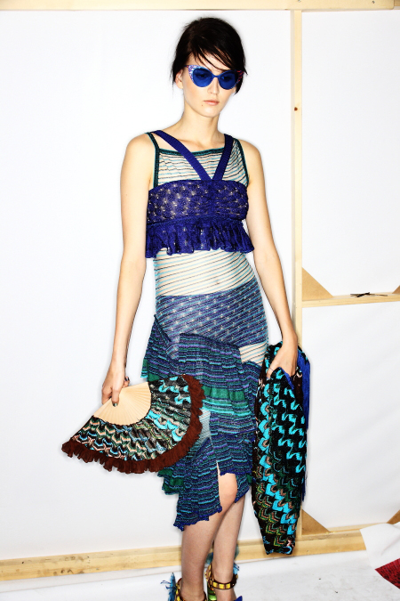 Missoni SS12 Fashion Show Milan Backstage