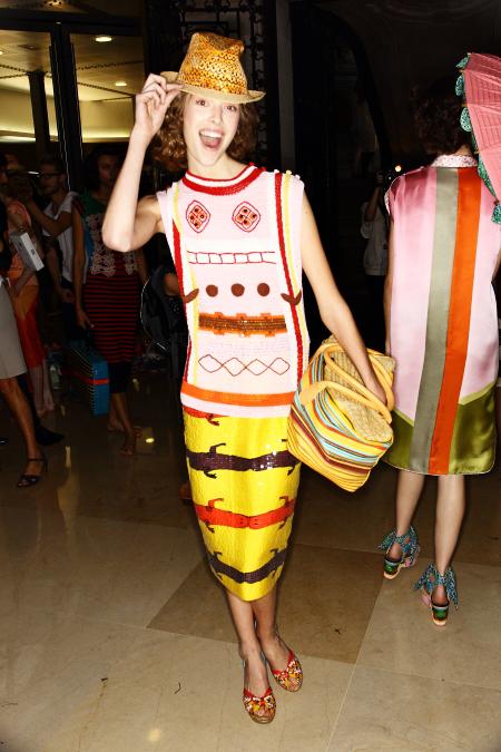 Tsumori Chisato SS12 Fashion Show Paris Backstage