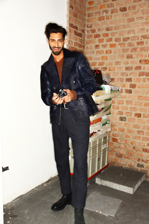 Diesel Black Gold AW12 Men Collection Milan Backstage