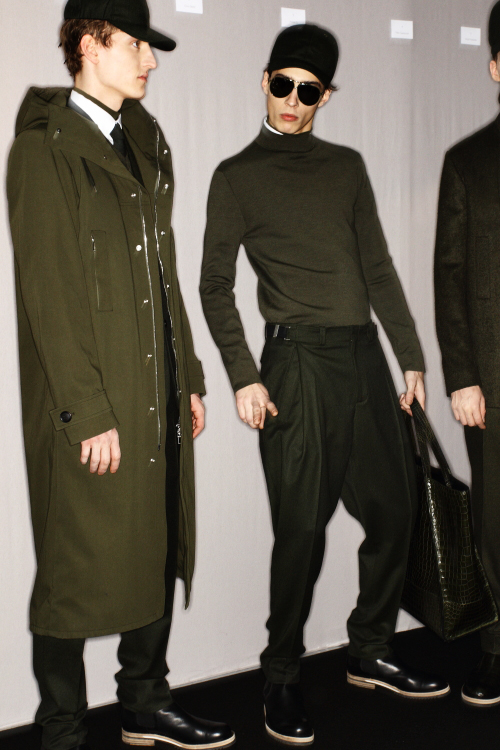 DIOR AW 12 Men Fashion Show Paris Backstage