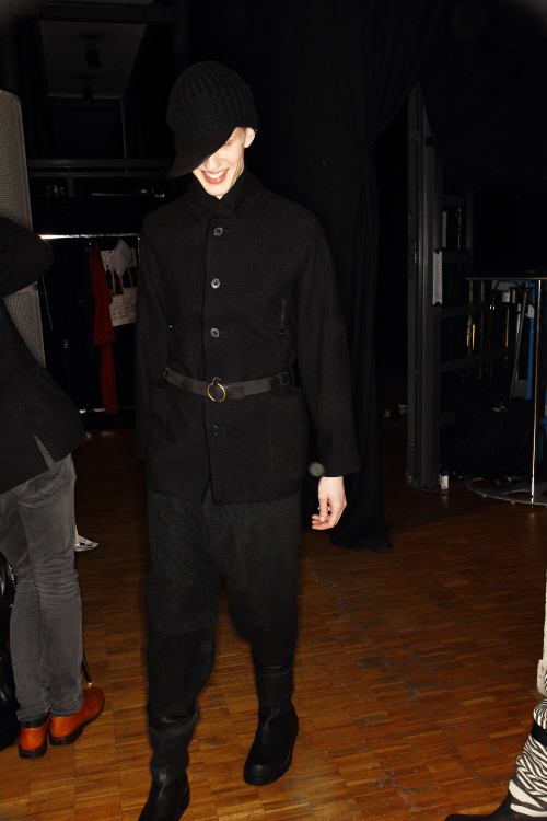 Damir Doma AW 12 Men Fashion Show Paris Backstage