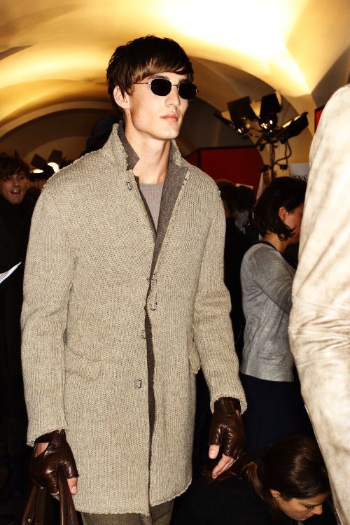 John Varvatos AW12 Mens Fashion Show Milan Backstage