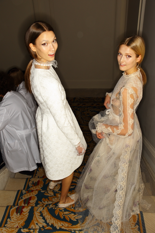 Valentino Haute Couture Fashion Show Paris Backstage