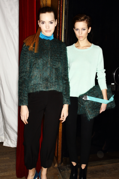 Carin Wester AW12 Fashion Show Stockholm Backstage