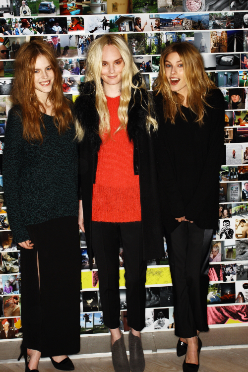 Filippa K AW12 Fashion Show Stockholm Backstage
