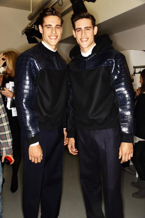 840dd71e05 Sonny Vandevelde - Calvin Klein Collection Men AW12 Fashion Show ...