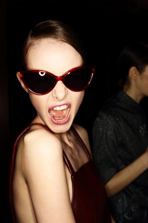 Hernández Cornet AW12 Fashion Show Stockholm Backstage