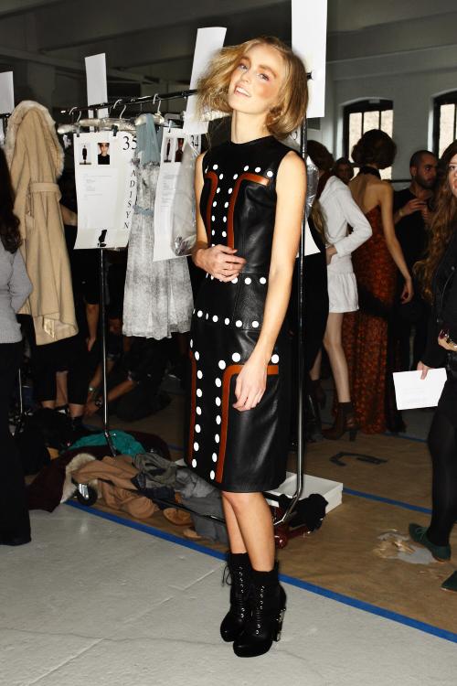Rodarte AW12 Fashion Show New York Backstage