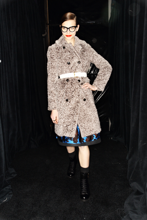 Marc by Marc Jacobs AW12 Fashion Show New York Backstage