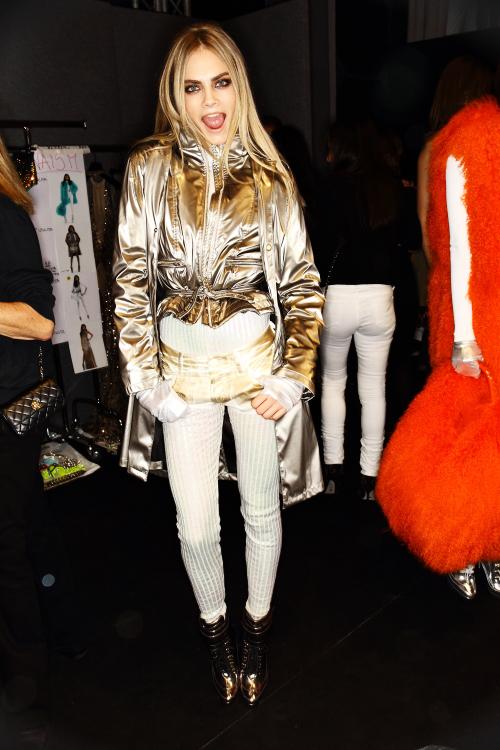 Blumarine AW12 Fashion Show Milan Backstage