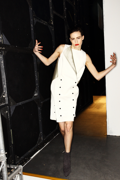 Sportmax AW12 Fashion Show Milan Backstage