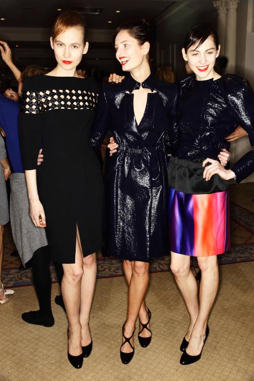 Thakoon AW12 Fashion Show New York Backstage