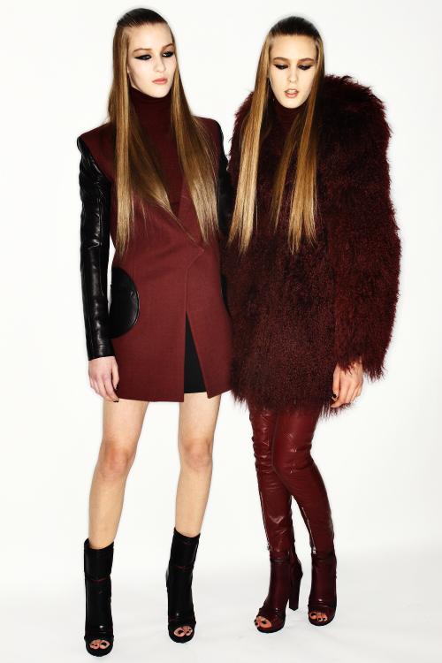 Versus AW12 Fashion Show Milan Backstage
