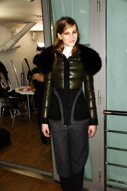 Pedro Lourenco AW12 Fashion Show Paris Backstage
