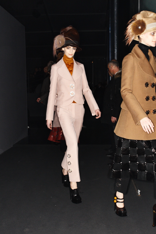 Louis Vuitton AW12 Paris Fashion Show Backstage
