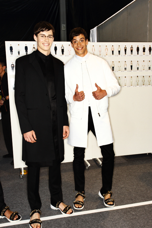 Givency SS13 Men Fashion Show Paris Backstage