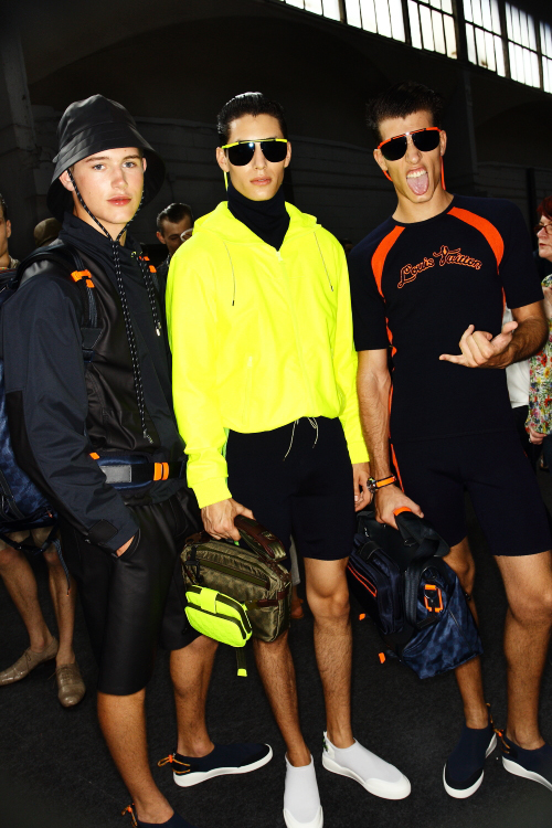 Louis Vuitton SS13 Men Paris Fashion Show Backstage
