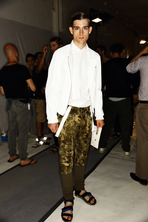 Dries Van Noten SS13 Men Fashion Show Paris Backstage