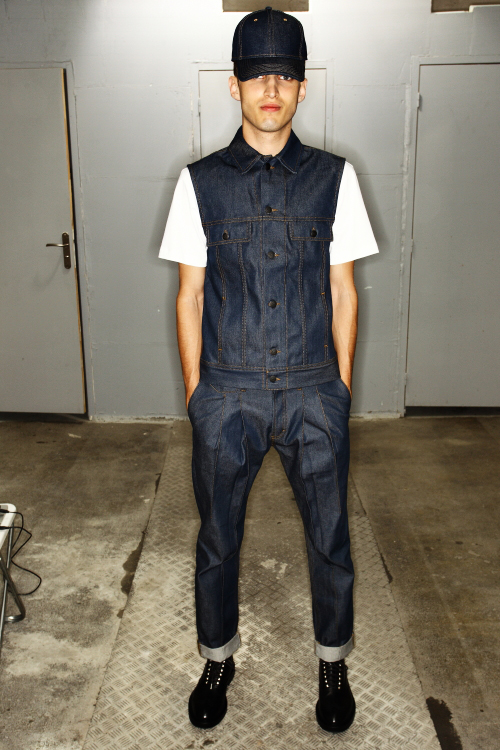Kris Van Assche SS13 Men Fashion Show Paris Backstage