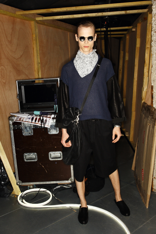 Damir Doma SS13 Men Fashion Show Paris Backstage
